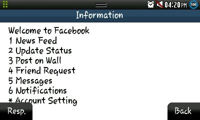 Facebook without Internet Fonetwish