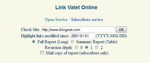 Link Valet Online