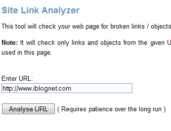 Perfect Optimization – Site Link Analyzer