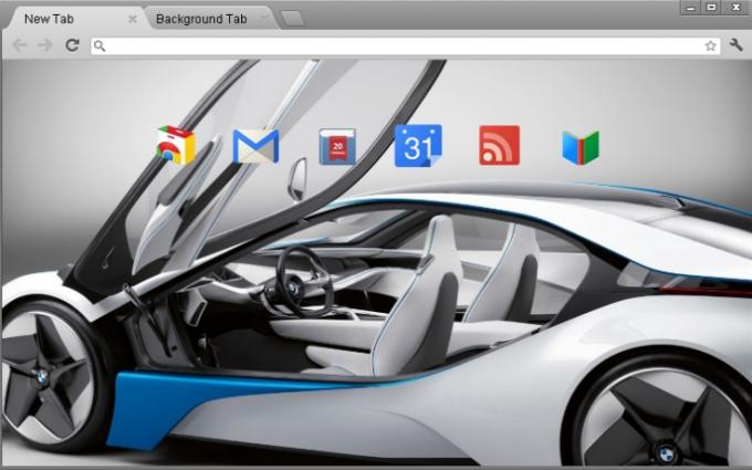 BMW Chrome Theme