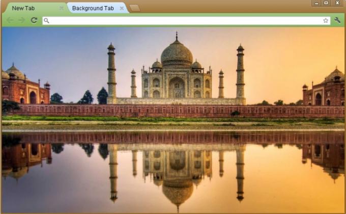 Taj Mahal Google Chrome Theme
