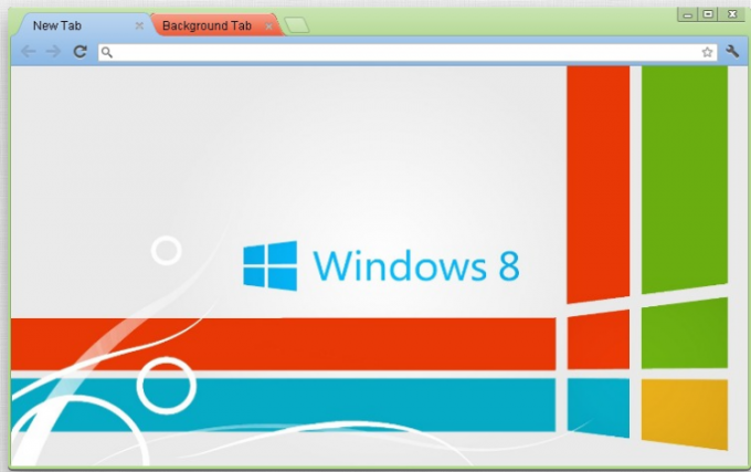 Windows 8 Google Chrome Theme