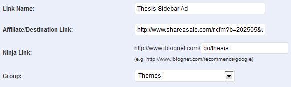 MaxBlogPress Ninja Affiliate Adding New Links