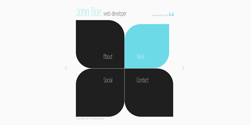 12-sharp-portfolio-vcard-wordpress-theme