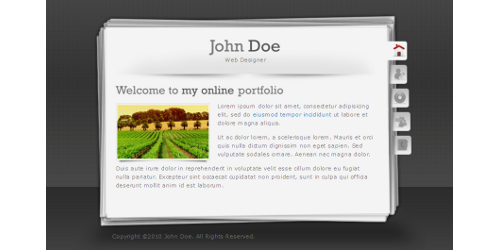 Portfolio Style Wordpress Themes Portfolio-wordpress-theme