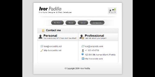 18-vCard-Professional-portfolio-wordpress-theme